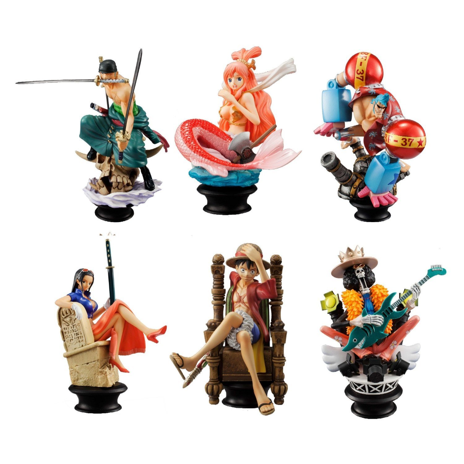 One Piece Megahouse Chess Chess Chess Piece Collection Vol. 2 Trading Figure Display 9 (japan import) 5ac73b