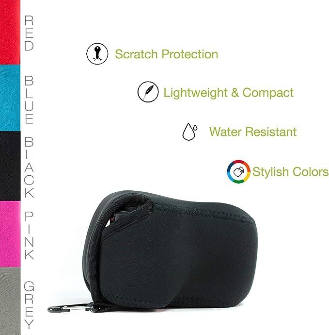 Megagear Ultraleichte Kameratasche Aus Neopren Kompatibel Mit Olympus Om D E M1 Mark Iii E M1