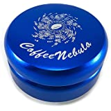(58mm, Blue) - Coffee Distributor Tool - for 58mm Espresso Portafilters - EVENLY DISTRIBUTES COFFEE GROUNDS - Provides Proper Tamping - ADJUSTABLE (58mm, Blue)
