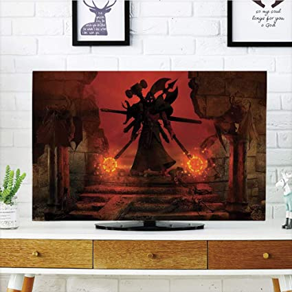 Peachy Amazon Com Iprint Lcd Tv Cover Lovely Horror Decor Download Free Architecture Designs Scobabritishbridgeorg