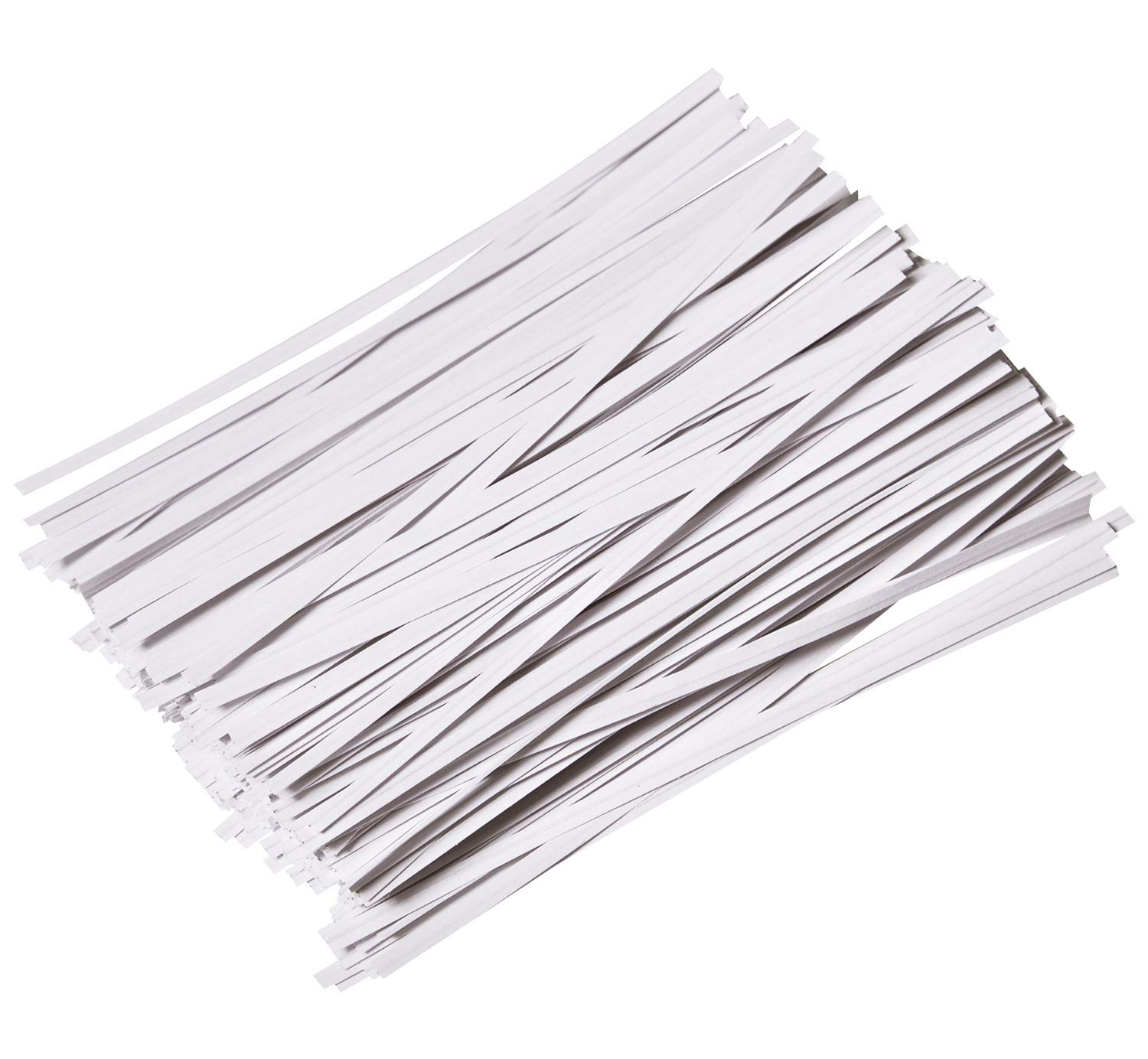 5 Inches Plastic Black Twist Ties For Party Cello Candy Bags Cake Pops 1000 PCS