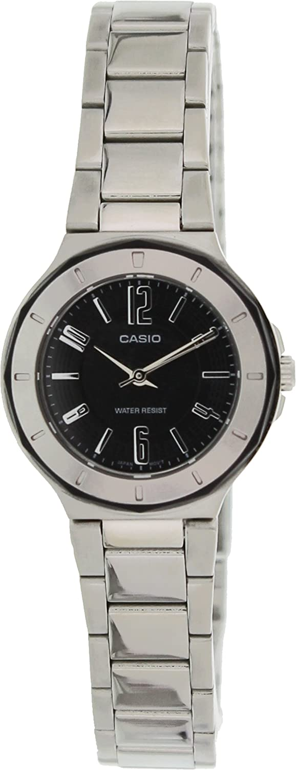Casio Core Quartz Movement Black Dial Ladies Watch LTP-1367D-1A1DF