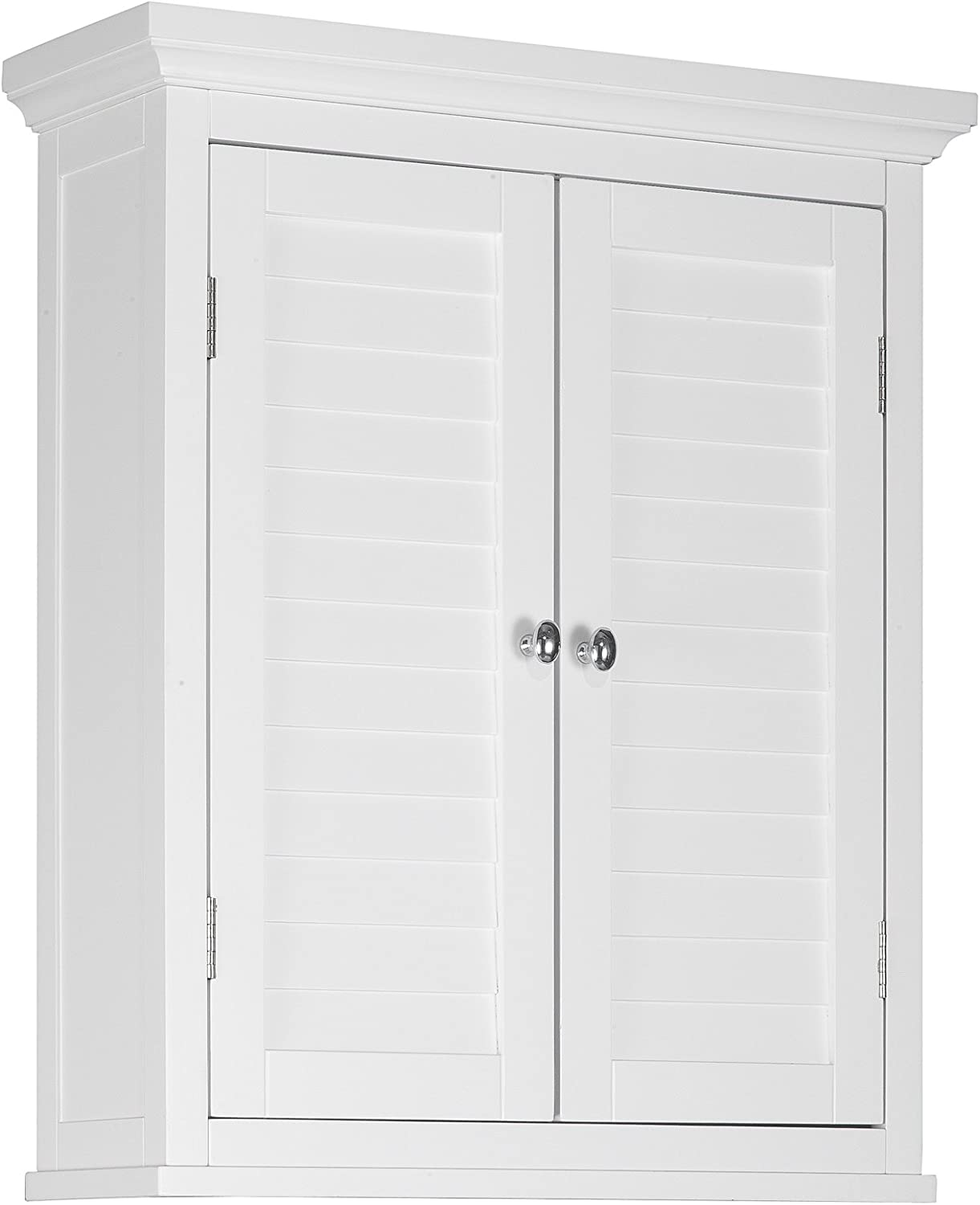 Elegant Home Fashions Adriana Wall Cabinet with 2-Shutter Door