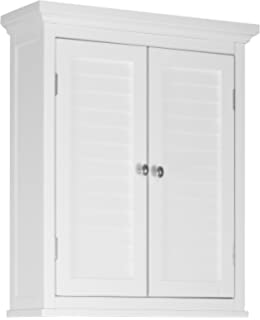 Elegant Home Fashions Adriana Wall Cabinet With 2 Shutter Door