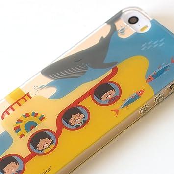 Superbritánico Carcasa trasera Beatles para Iphone 5/5s/SE ...