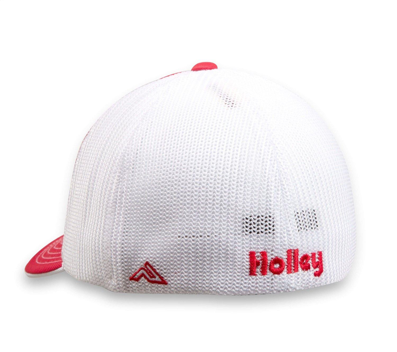 Holley 10161-LGHOL Flex Mesh Cap Red