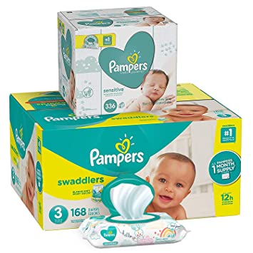 Pampers Baby Diapers and Wipes