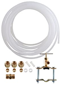 LDR 509 5100 Ice Maker/Humidifier Installation Kit, 1/4-Inch x 25-Foot, Poly Tubing
