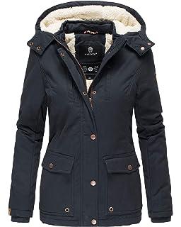 8 Farben Marikoo Damen Mantel Winterparka Akira Wintermantel CdxoerB