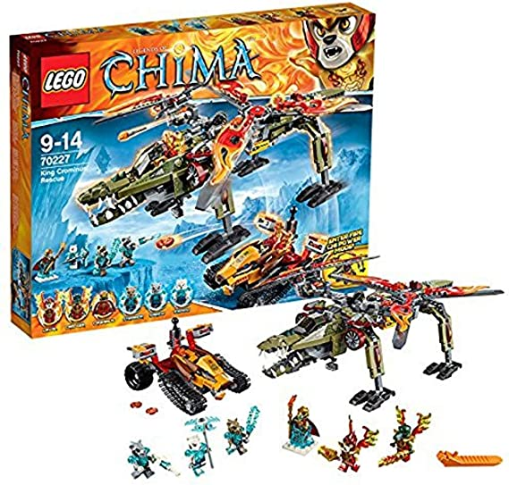 LEGO Legends of Chima - Juguete El Rescate del Rey Crominus (70227 ...