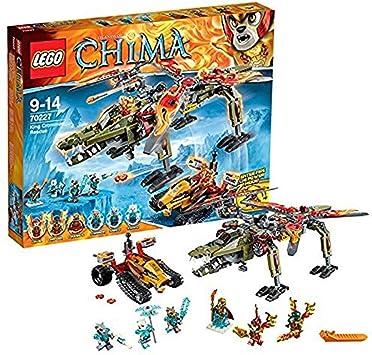 LEGO Legends of Chima - Juguete El Rescate del Rey Crominus (70227): Amazon.es: Juguetes y juegos