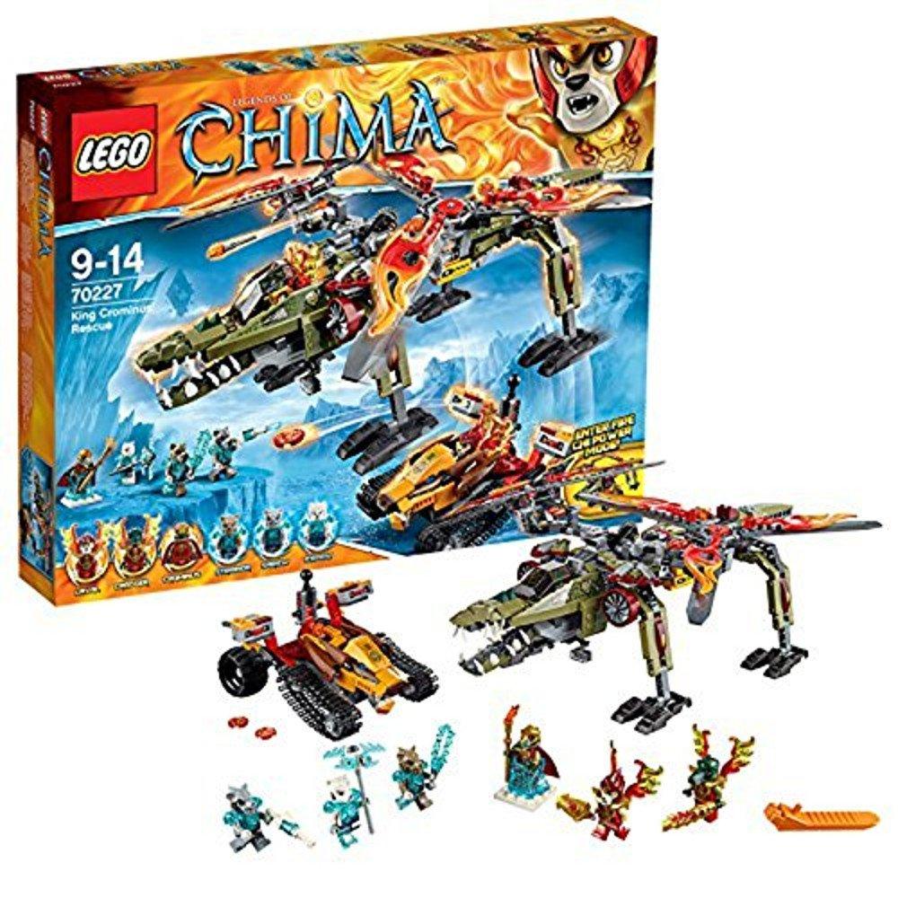 レゴ (LEGO) チーマ クロミナス王の救出 70227   B00NVDMR9K