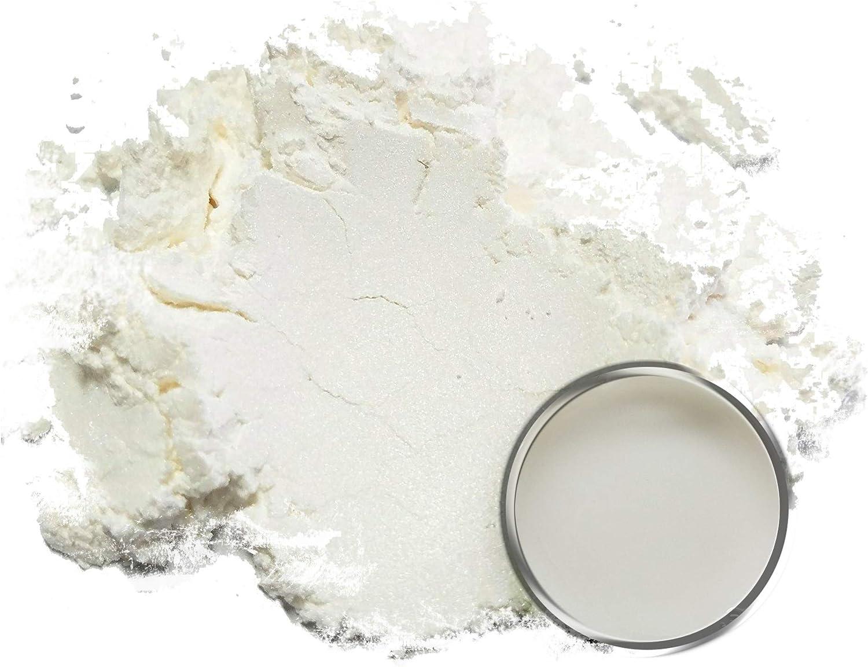 50 g de pigmentos en polvo blanco de Mica (resina, pintura, epoxi, jabones, esmalte de uñas, envolturas líquidas): Amazon.es: Juguetes y juegos