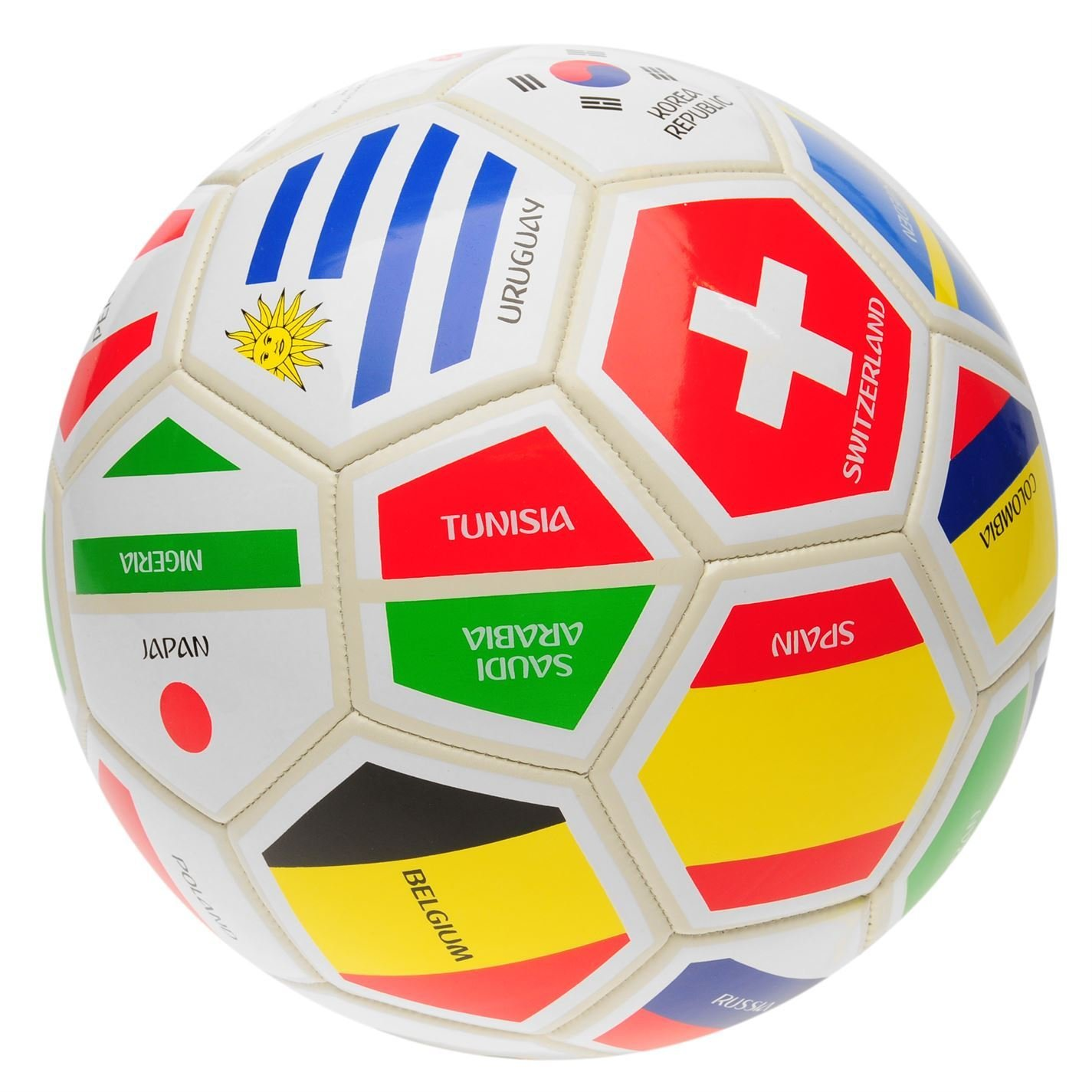 FIFA World Cup 2018 - Balón de fútbol, color blanco, color Blanco/Múltiple, tamaño talla 5: Amazon.es: Deportes y aire libre