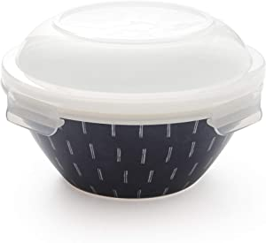 Rachel Barker Multi Porcelain Serve and Store Airtight Container 7 1/2
