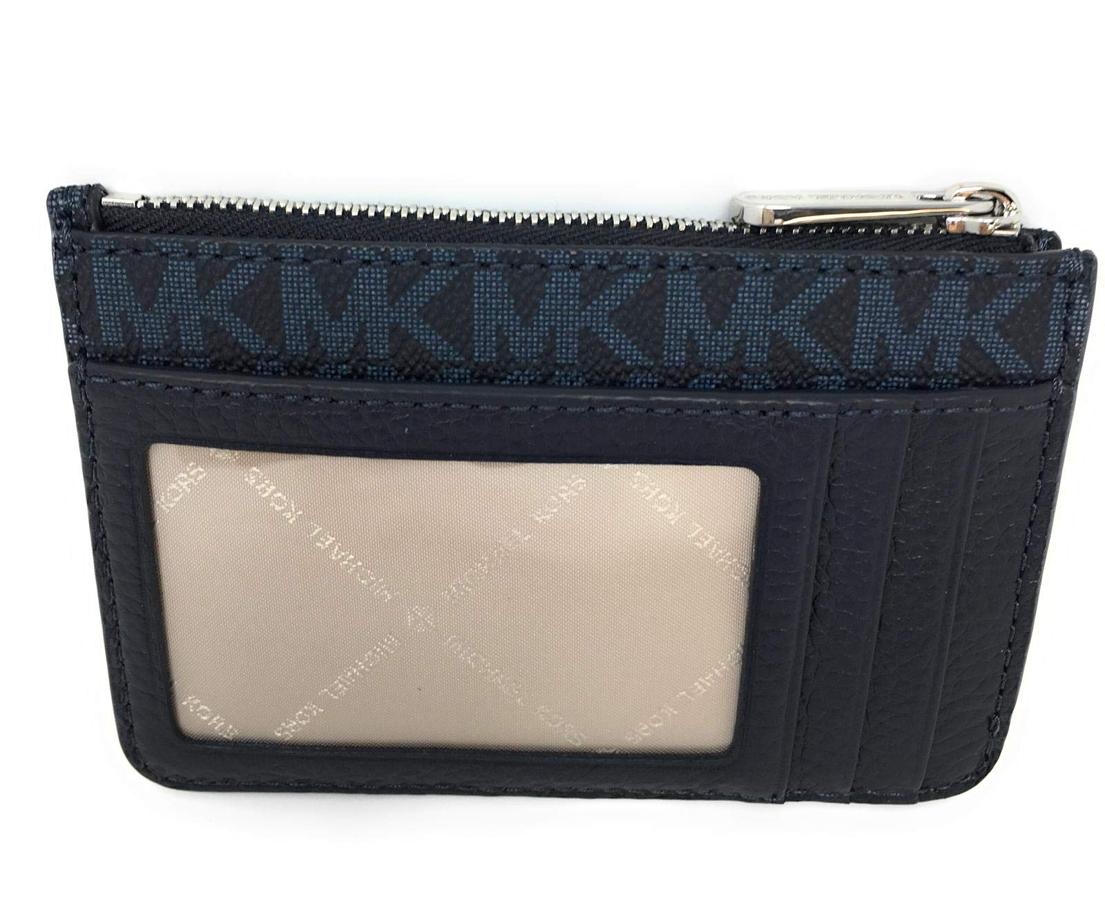 Michael Kors Fulton Small Top Zip ID Coinpouch with key Chain (Admiral) by Michael Kors (Image #2)