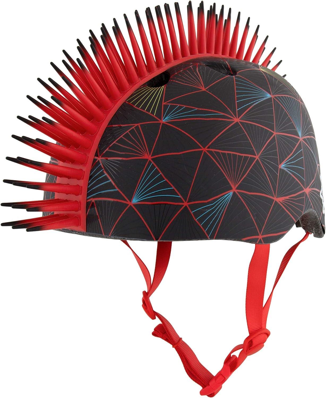 Best-Skateboard-Helmet-Krash-Black-Gator-Youth-Mohawk-Helmet