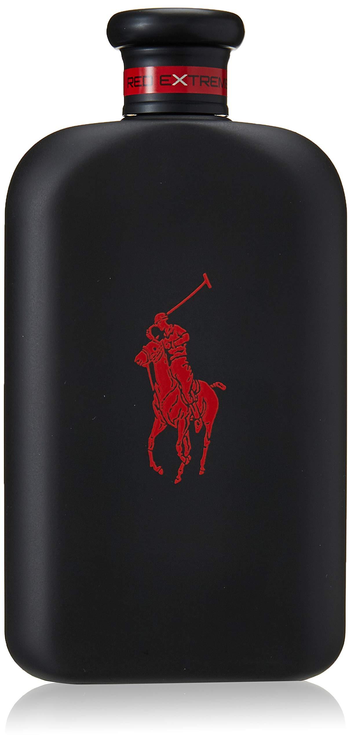 Ralph Lauren Polo Red Extreme for Men Parfum Spray, 6.7 Ounce, black