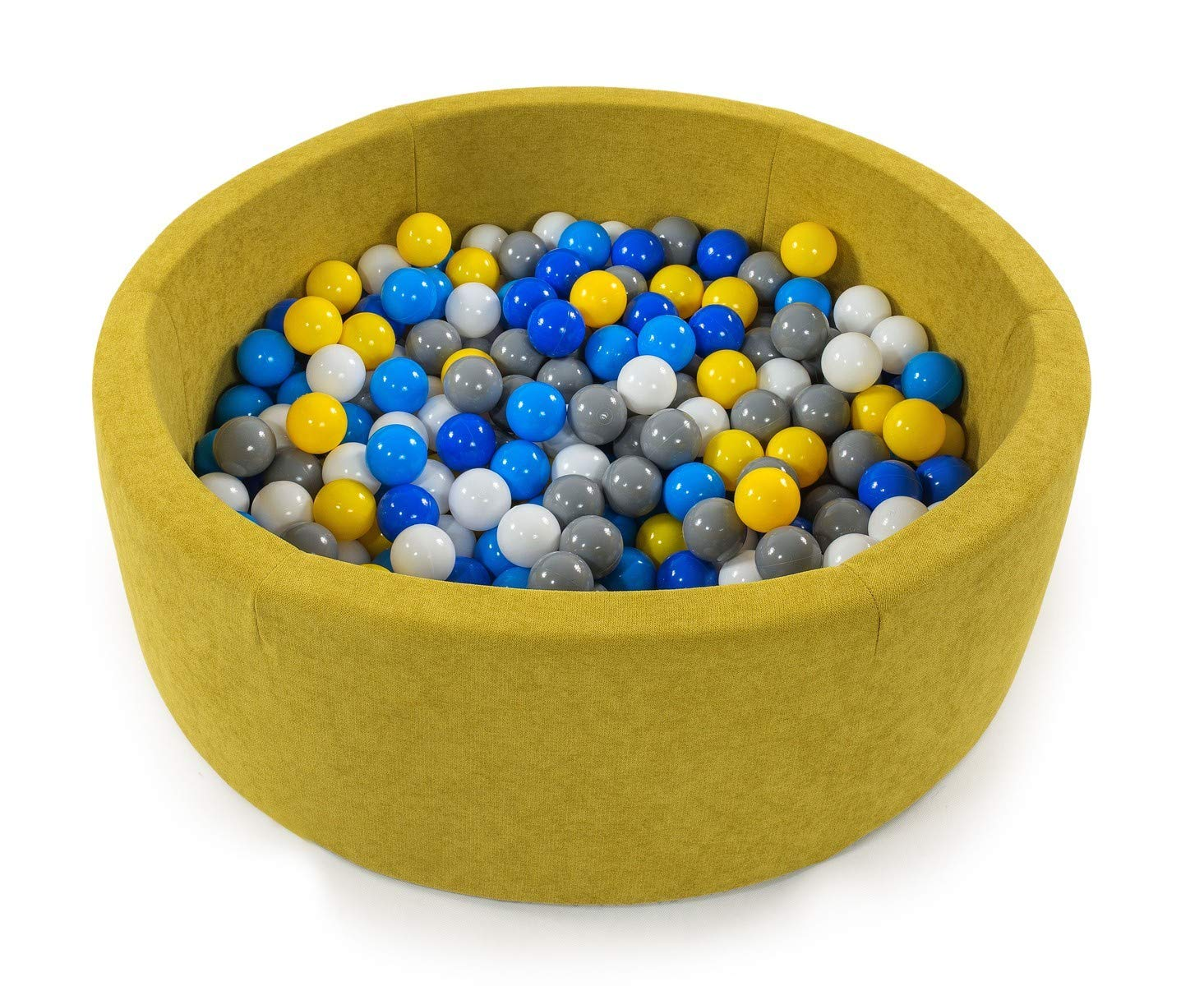 Tweepsy Kinder Baby B/ällebad Kugelbad Spielen B/ällchenpool Babyspielzeug 250 B/älle 90x30cm Handgefertigt EU BKOD4