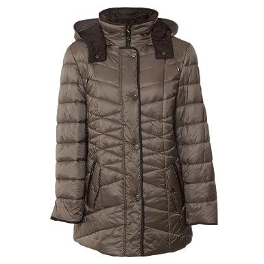 Lebek Jacke Steppjacke Mantel Damen - 50  Amazon.de  Bekleidung 7882aaae55