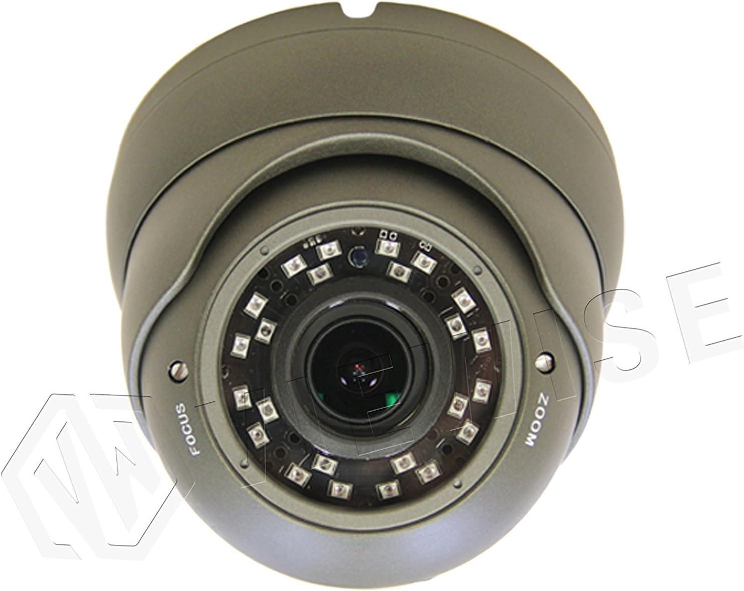 VIEWISE HD 1080P 2MP SONY Sensor Indoor Outdoor Surveillance Security Camera Video Monitoring Day Night Vision 4-in-1 HD-TVI AHD CVI 1200TVL Eyeball Turret Dome 2.8 12mm Varifocal Lens Gray