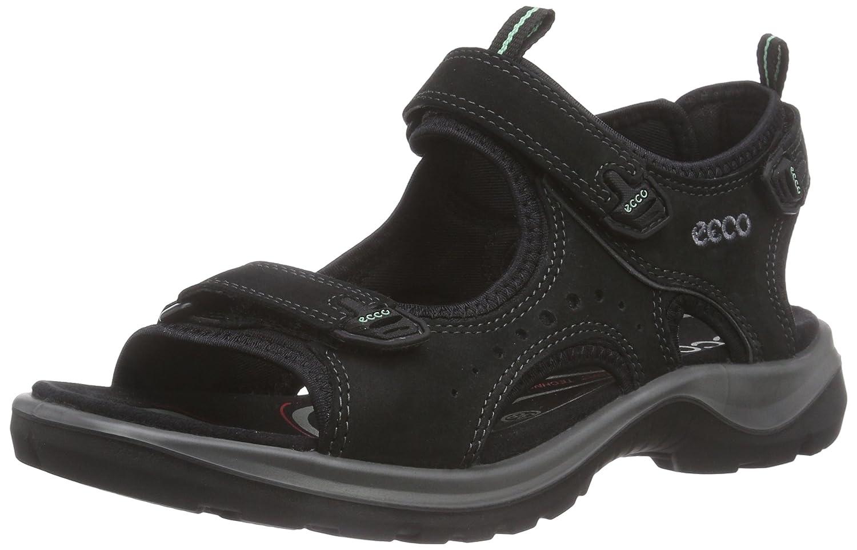 ECCO Women's Yucatan Sandal B011EA45EG 36 EU/5-5.5 M US|Black