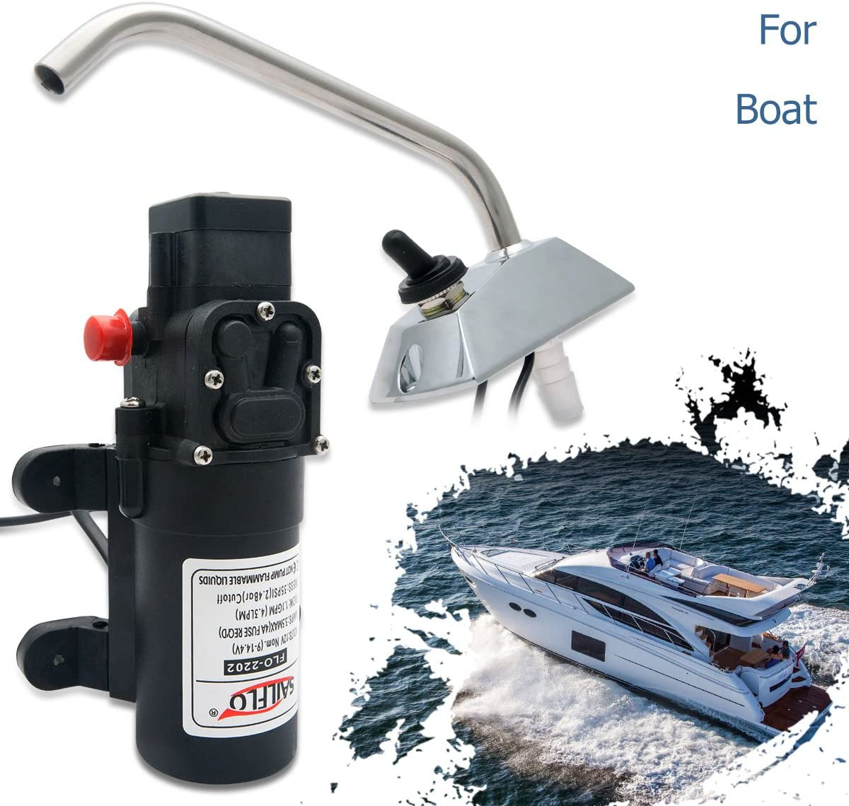 12V Self Priming Galley Electric Water