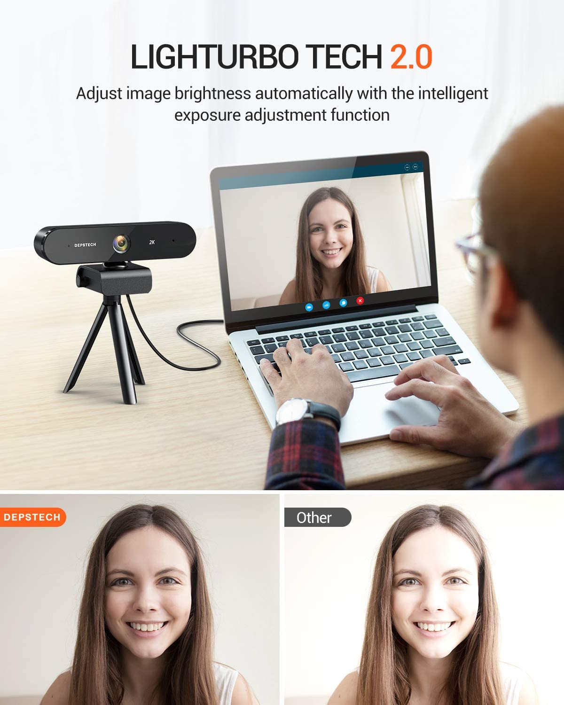 alpha-ene.co.jp 2K Webcam Online Class Streaming Webcam for Video ...