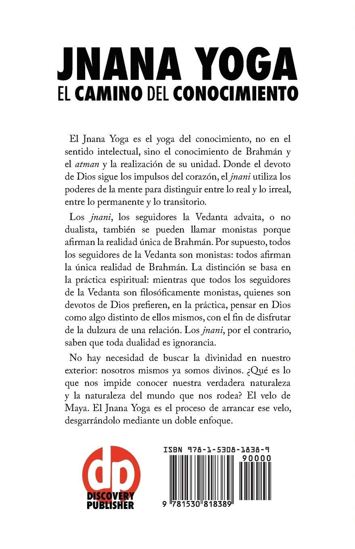 Amazon.com: Jnana Yoga: El Camino del Conocimiento (Spanish ...