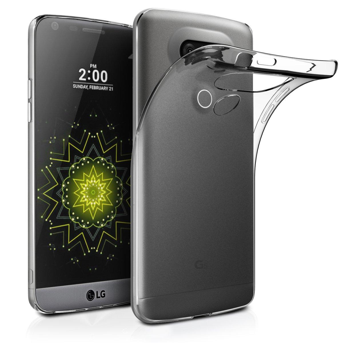 AICEK Funda LG G5, Protector LG G5 Funda Transparente Gel Silicona LG G5 Premium Carcasa para LG G5