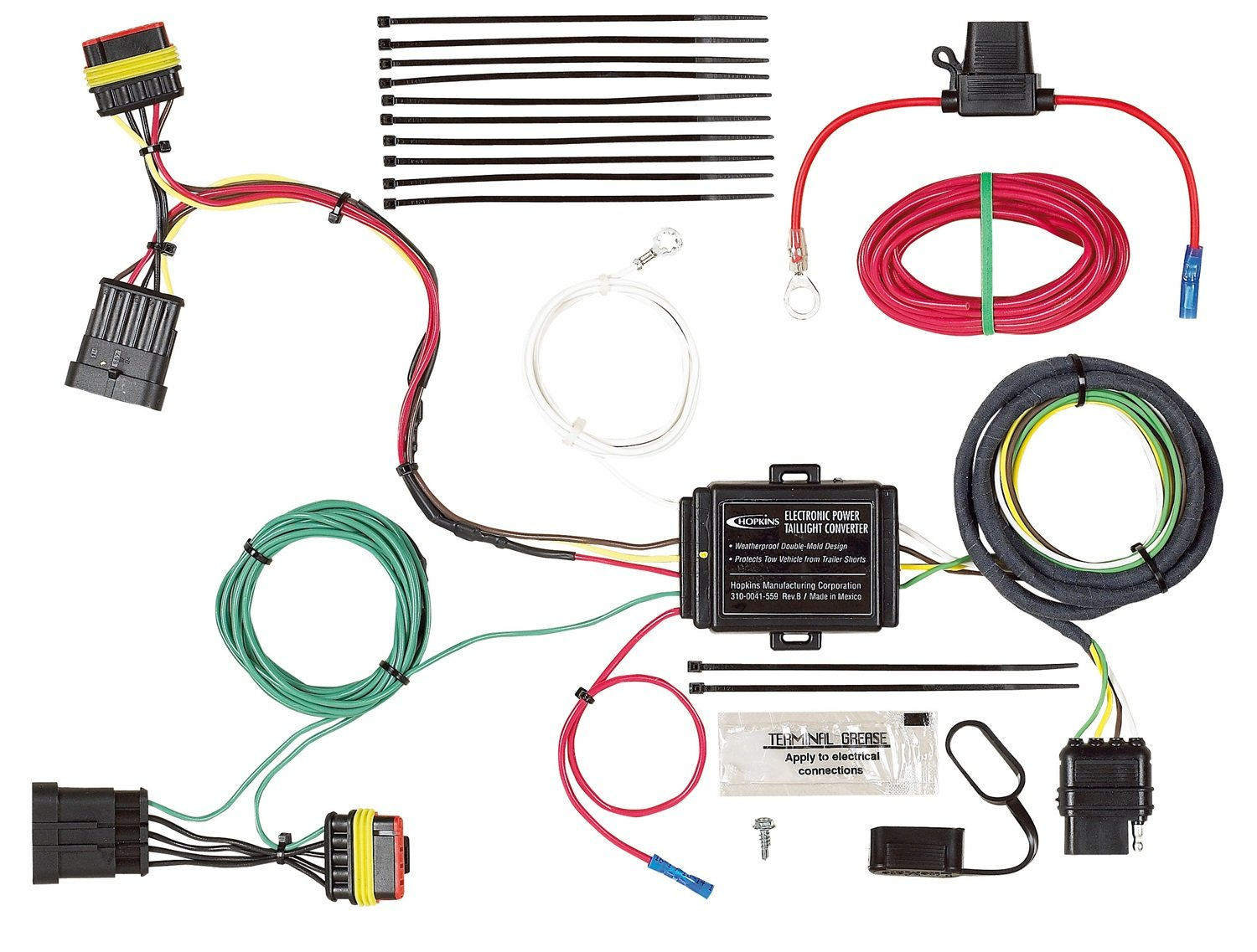 Hopkins 40274 Plug-In Simple Vehicle Wiring Kit Hopkins Towing Solution