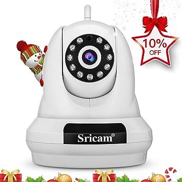 Sricam SP018 Cámara WiFi IP HD de Seguridad para el hogar, 1080p cámara de vigilancia