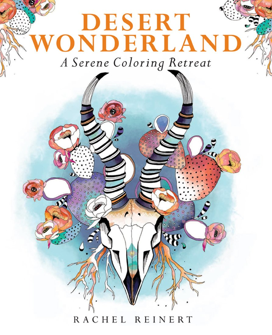 Download Desert Wonderland: A Serene Coloring Retreat PDF