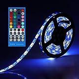LEH LED Rope Lights RGBW  Light Strip  Waterproof 5050 SMD 16.4 Feet 300 Leds LED Strip Lights Full Kit
