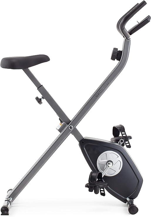 CADENCE Unisex SMARTFIT 100 Faltbares Fitnessfahrrad, Schwarz und Silber: Amazon.es: Deportes y aire libre