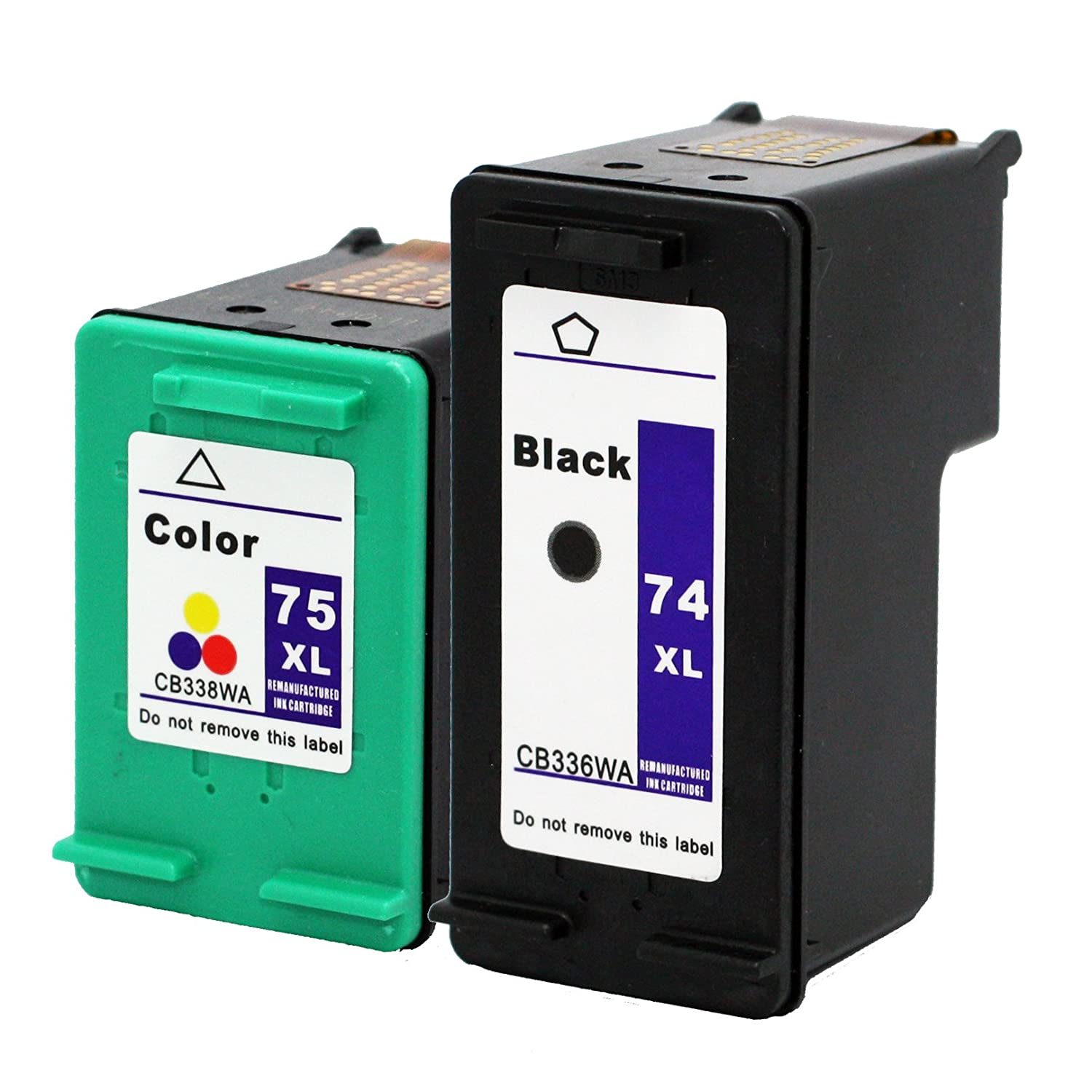 Color printing bu - Amazon Com Remanufactured Ink Cartridge Replacement For Hp 74xl 75xl 1 Black 1 Color 2 Pack Electronics