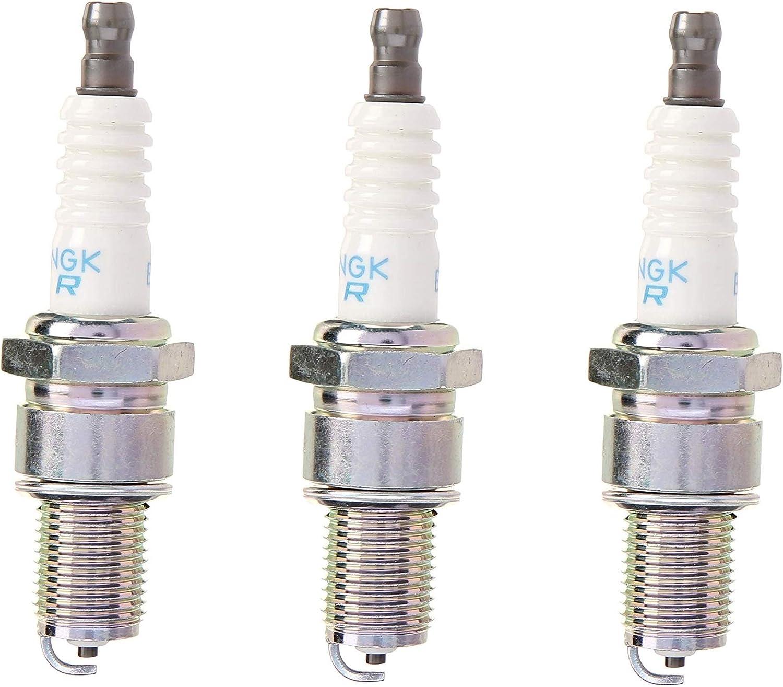 NGK (7131) BPR6ES SOLID Standard Spark Plug, Pack of 1