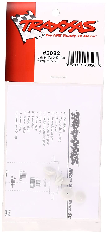 Traxxas TRA2082 1//16 VXL Micro Servo Gear Set