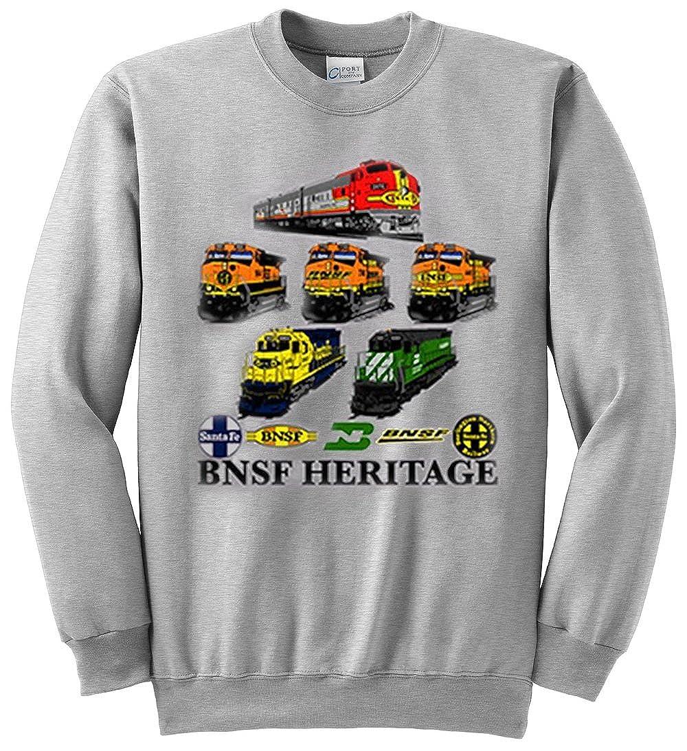 BNSF Heritage Authentic Railroad Sweatshirt