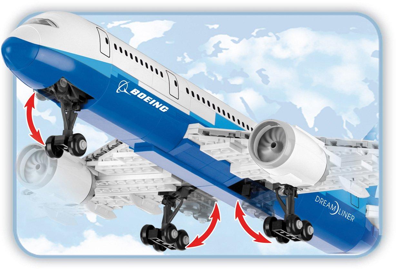 avi/ón de pasajeros Color Blanco 26600 Boeing 787 Cobi