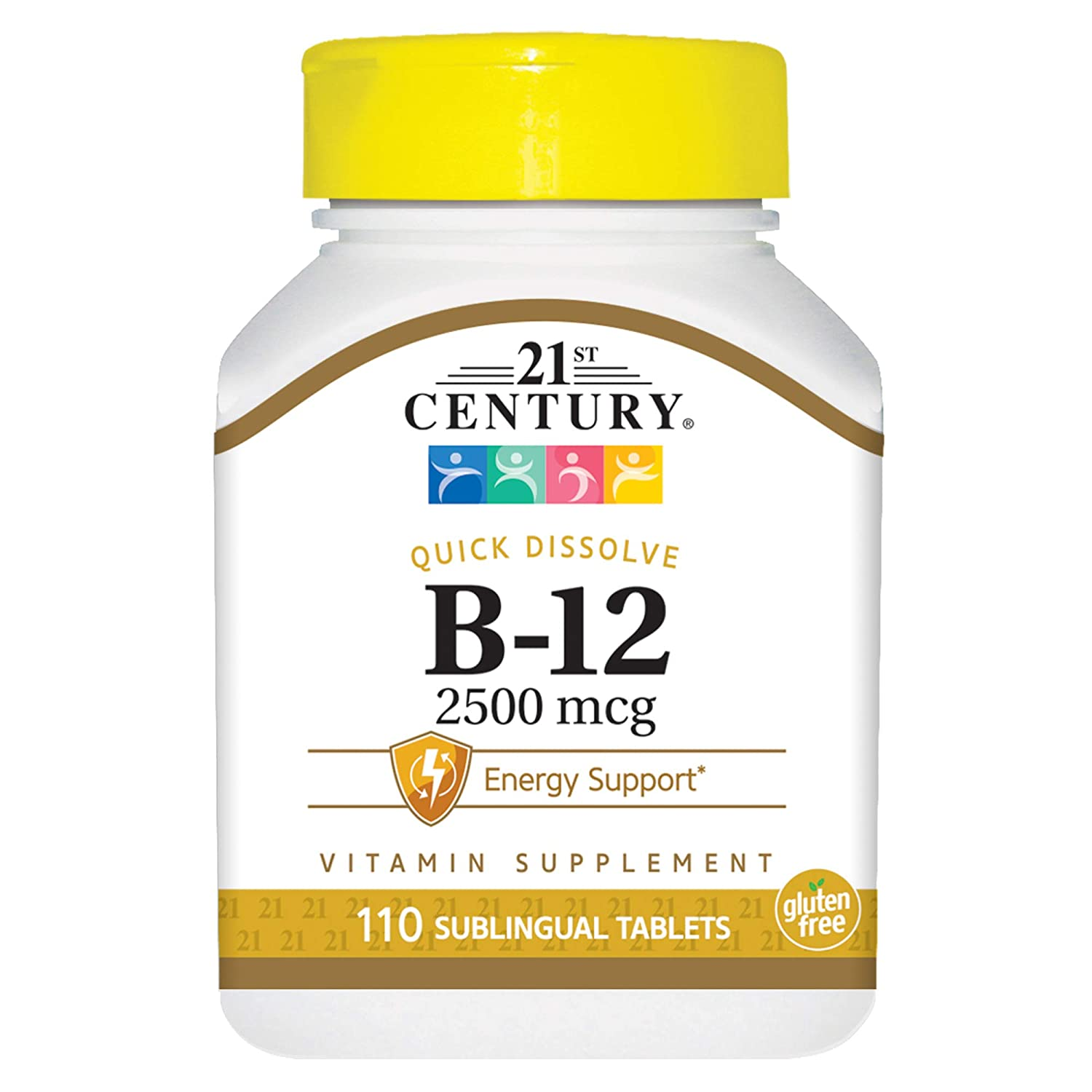 Amazon.com: 21st Century B 12 1000 mcg Prolonged Release Tablets, 110 Count: Health & Personal Care