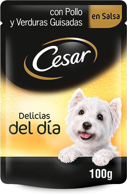 Bolsitas para perro de pollo y verduras en salsa de 100g (Pack de ...