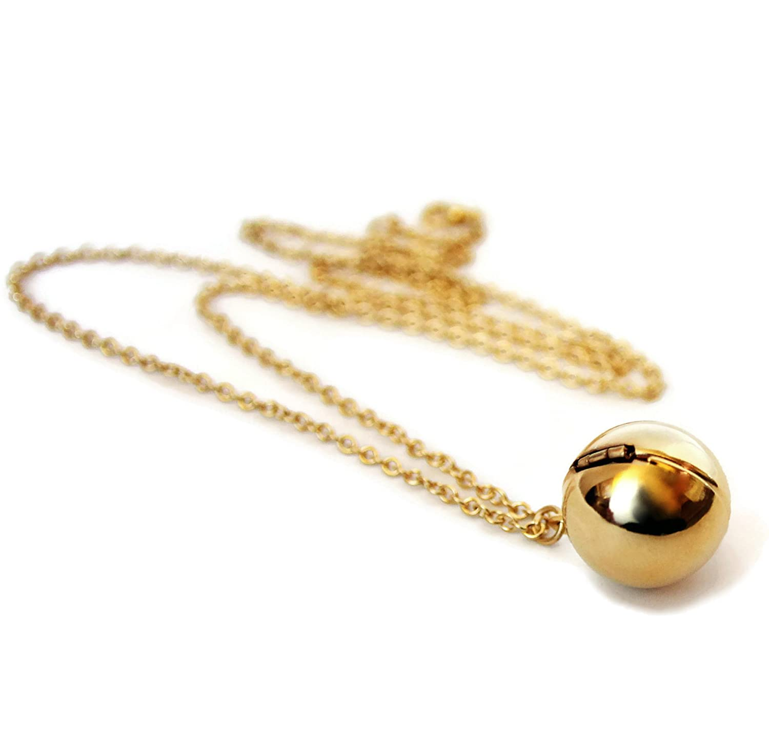 locket amazon dearest ball jewelry gold lockets message mine tone dp com secret necklace