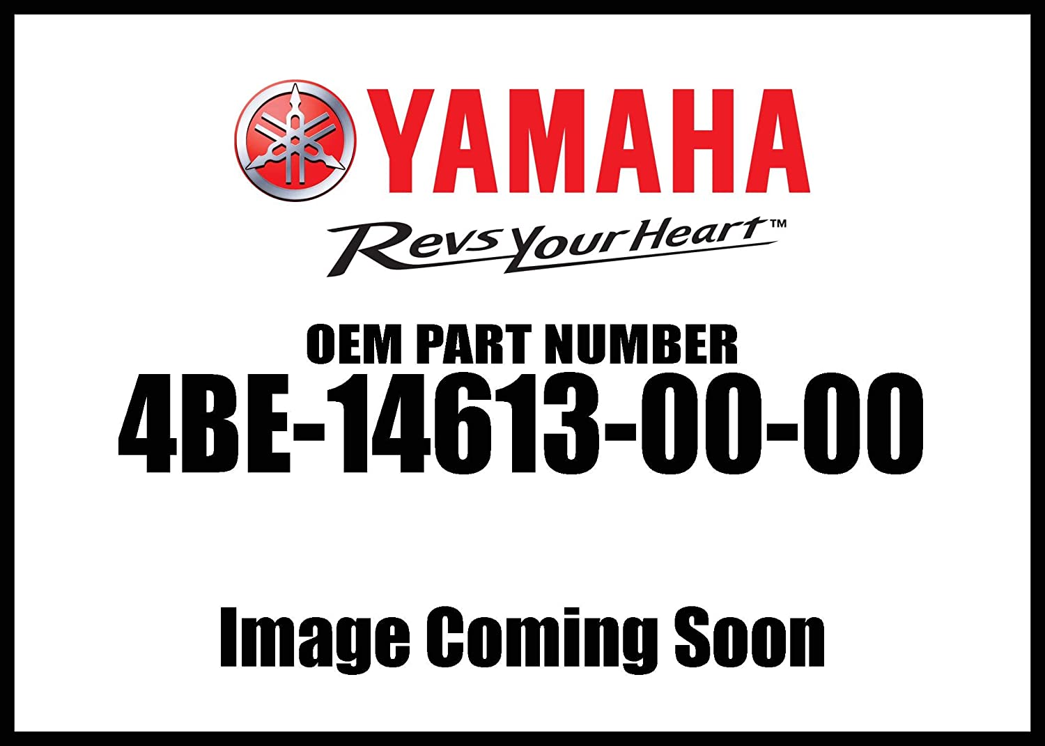 Yamaha 4BE-14613-00-00 GASKET, EXST PIPE; 4BE146130000