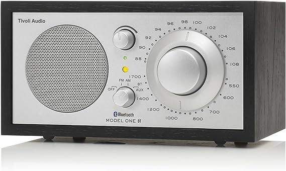Tivoli Model One Bluetooth Ukw Mw Radio In Schwarz Silber Audio Hifi