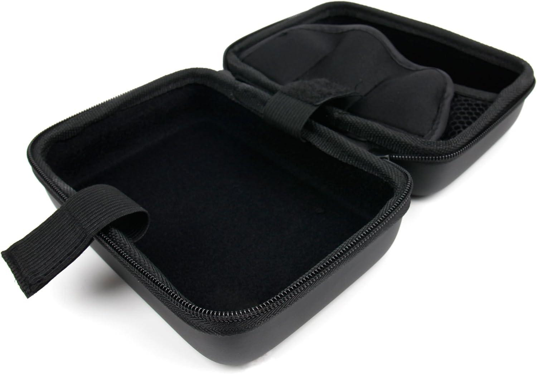 Compatible with Jomotech Lite 80 TC 2600mAh Starter Mod Kit /& Accessories DURAGADGET Hard Black EVA Shell Case w//Carabiner Clip /& Twin Zips