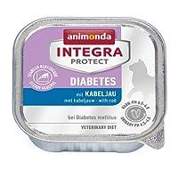 Animonda Integra Protect Diabetes con bacalao 16x 100g rígida, 1er Pack (1x 1.6kg)