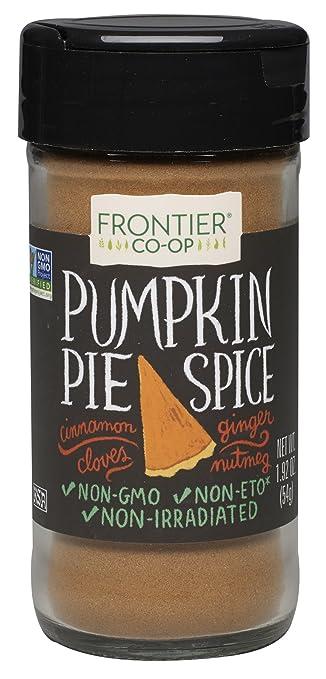 Frontier Pumpkin Pie Spice Salt Free Blend 192 Ounce Bottle