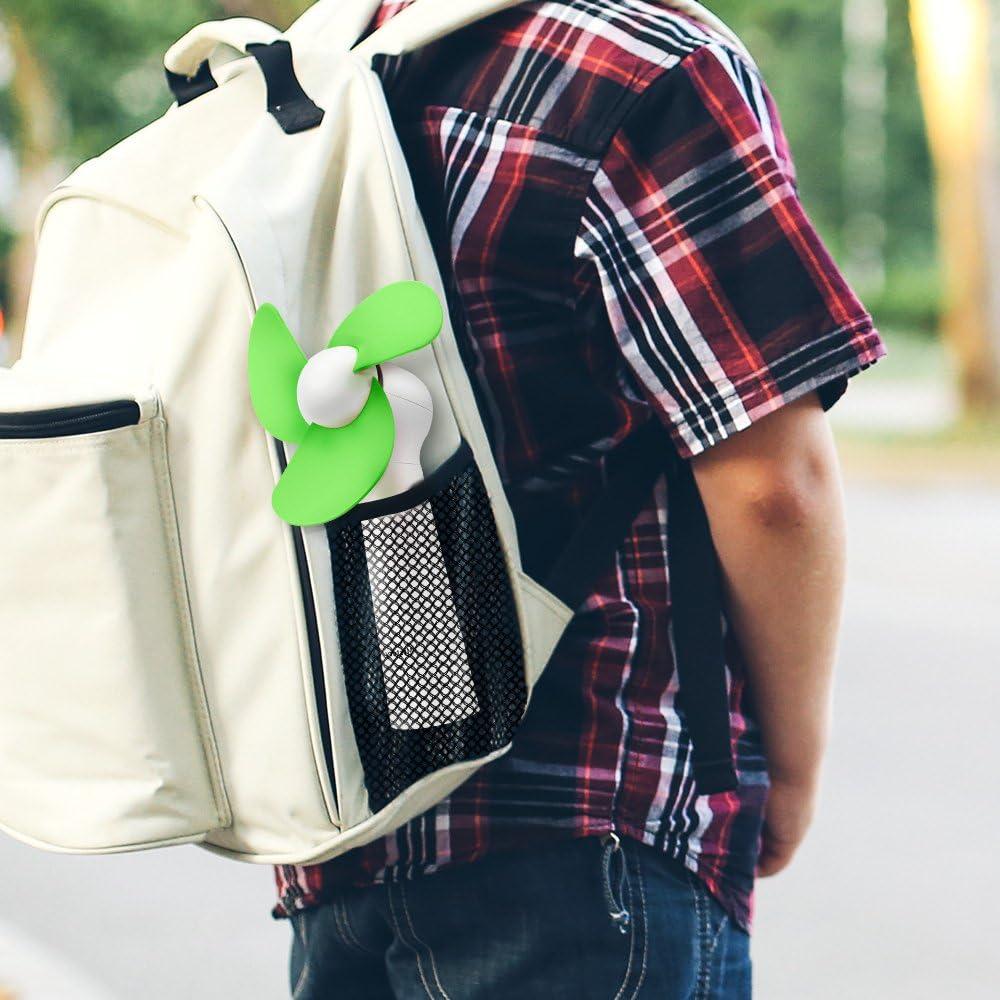 Bleu Mini Ventilateur /à Main Bureau Mystery Ventilateur Portable Ventilateur de Poche USB Charge Ventilateur de Refroidissement Personnel Portatif pour Maison voyage
