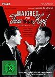 Maigret und die Frau ohne Kopf (Cécile est morte!) / Spannender Maigret-Krimi nach einem Roman von Georges Simenon (Pidax Film-Klassiker)